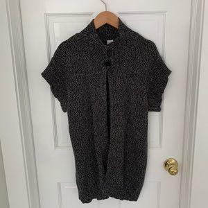 Bobbie Brooks Short Sleeve Cardigan Sweater, L